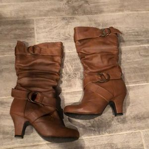 Shoes - Gently used high heeled boots